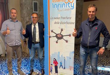 Scuderia Infinity: born to disinfect: La nuova frontiera della disinfezione.